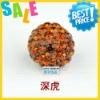 Paypal!! 10mm crystal pave beads cheap bulk wholesale shamballa clay beads dark brown