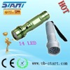 14 LED long range flashLight torch A03