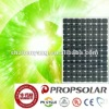 100% TUV standard flash test high efficiency mono solar panel