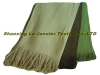 BF001-Herringbone Bamboo Fiber& Cotton Blended Throw,bamboo Fiber Throw, Bamboo Throw, Throw