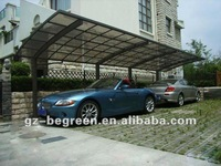 2012 best sale car shlter, car parking canopy, aluminum car shed, garage