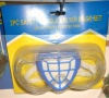 2pc safety glasses and dust mask set