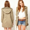 Large front pockets long sleeve style jackets and coats for women