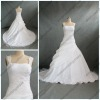 WR-019 Straps Appliqued Real Dress For A Wedding