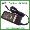 Replacement high quality AC adapters for Acer 19V 3.42A