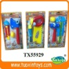 cartoon toy plastic mini toy tools with musical