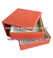 fashion Pu leather Jewelry Box