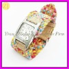 Wholesale Braided Rope Fashion Analog Wrist Watch W-041