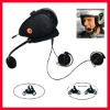 motorcycle open helmet headset . bluetooth headset with interphone intercom communication