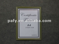 PS CERTIFICATE FRAME