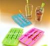 FDA ,LFGB Standard silicone ice tray with custom logo