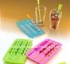 FDA ,LFGB Standard silicone ice tray with custom logo