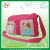 Hot sales cotton fabric latest fashion handbags