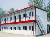 Red Roof Double Floor Prefabricated Workers' Housing