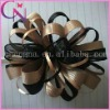 Coffee black Curly hair flower hair accessory hair clip (CNCHF-153)