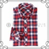 CVC 60/40 yarn dyed flannel classic check shirts for men