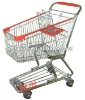 SCYG09 American style chrome plated shopping cart