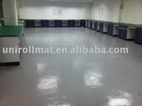 Rubber Flooring for Laboratory with PU Coating