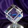 3d laser crystal block cube,crystal 3d laser craft,crystal biz gift