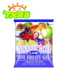 Fruit jelly in bag