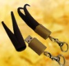 Soft pvc 3D Deer Horn 4GB USB Promotion Gift