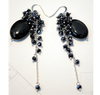 Highly jewelry fashion gemstone dangle earrings