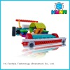 Plastic building blocks DIY toys educational