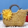 sweet straw tote bag