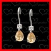 fashion jewelry manufacturer jewellery silver earrings