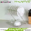 Kitchenware stainless steel dish drainer rack