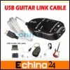 Wholesale USB Guitar Link Cable PC To Guitar USB Interface Audio Link Cable Guitar Accessories