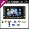 2.3 Android wifi 3G In Dash universal car dvd player car pc with gps bluetooth