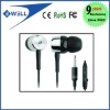 Good Sound Quality Earphone with Micphone and Press-button for iPhone and iPod