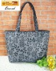 rose jacquard new style handbag tote bag