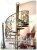 wrought iron rotary stairway