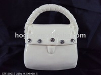 porcelain handbag