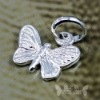 Silver Butterfly Pendants & Charms LC041