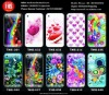 TPU case for iPhone5 flower and butterfly design