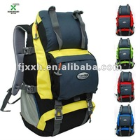 Big capacity Colourful camping and hiking backpack bags -120519