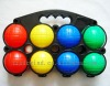 8pcs Plastic Boule ball set