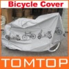 Grey Bicycle Cycling Bike Rain Cover and Dust Protector Cover Waterproof Protection Garage