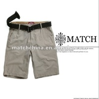 Matchstick 100% cotton men's skinny shorts chino shorts S3610