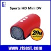 D32II Full HD 1080P Sports Camera With 20M Waterproof &Night Vision