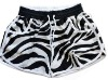 Fashion lady board shorts with elastic/printing