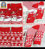 adults red socks for christmas in stock