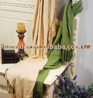 BF001-Herringbone Bamboo and Cotton Blended Throw