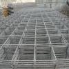 Galvanized mesh fence panel