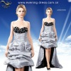 Guangzhou wedding dresses with detachable train 2012 ABN2038