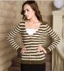 women sweater woolen sweater cardigan loose neck sweater