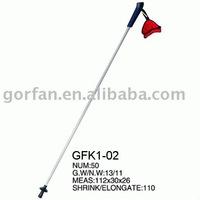 High tensile ski pole